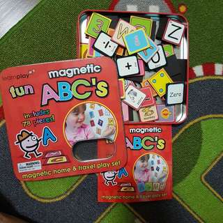 Learn Play Magnetic ABC