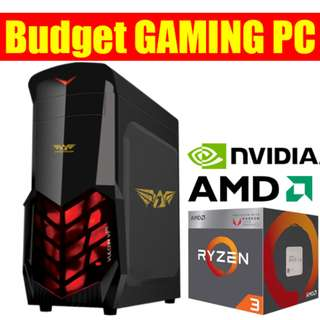 NEW GAMING PC AMD ZEN+ VEGA 8
