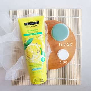 Freeman Masker Oil Absorbing - Mint and Lemon