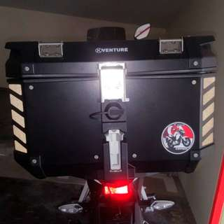 Motorcycle Box Reflective Stickers: *Popular demand* GIVI Trekker KAPPA K-Venture 48L Top Box (Free Mailing!)
