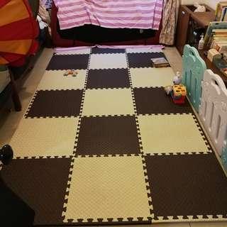 Baby play floor mat 18 pieces Simple design