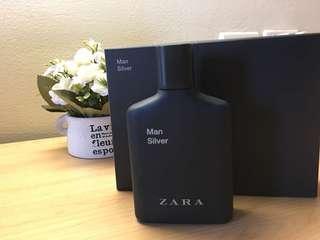 Men Silver Parfum ZARA