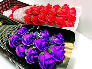 11朵香皂花玫瑰禮盒