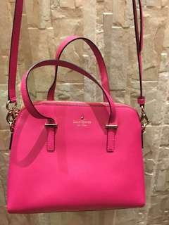 Kate Spade Hand/Body Bag Pink