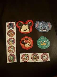 Hk Hong Kong Disneyland stickers