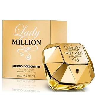 Authentic Paco Rabanne Lady million 80ml