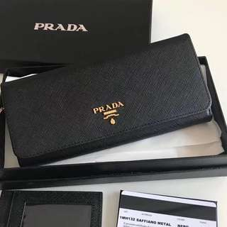 👍🏻BEST SELLING Prada Women Saffiano Leather Wallet