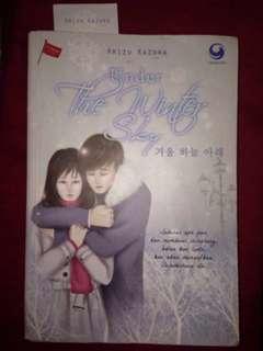 "Novel ""Under The Winter Sky"" karya ARIZU KAZURA"