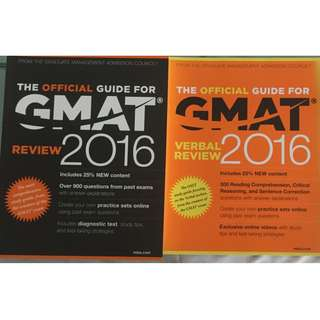 GMAT 2016 - whole set not used