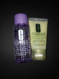 Bundle! Clinique Moisturizing Lotion & Take the Day Off Make-up Remover