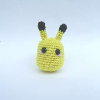 PLUSHIE: Egg Pikachu Pokemon (Crochet Amigurumi)