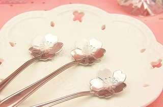 全新 櫻花 甜品匙 夢幻 甜品 Sakura spoon 女朋友 日本 咖啡 咖啡匙 生日 禮物 情人節