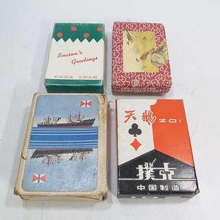 懷舊  撲克牌4只(不散議)
