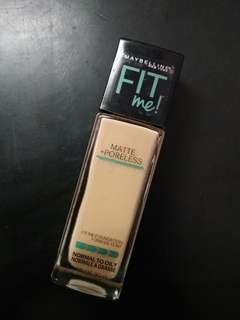 Maybelline Fit Me Foundation #125 Nude Beige