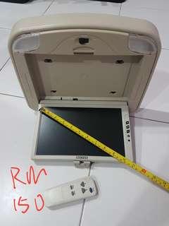 "1)bm usa 12 inch speaker  2)NECVOX 10.2"" INCH ROOD MOUNT DISPLAY MONITOR"