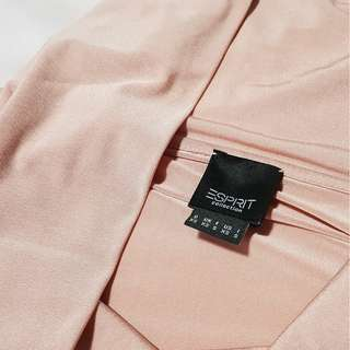 Brand new Esprit 3/4 sleeved top in Shimmer Blush