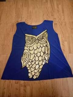 Blue Owl Top