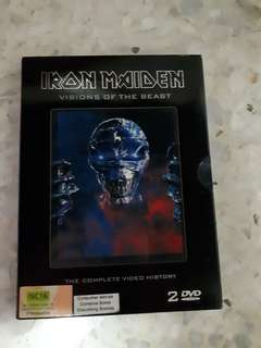 Iron Maiden Visions of the Beast (2 DVD video)
