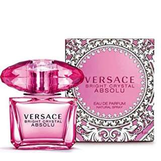 versace bright crystal absolu perfume for women 100ml
