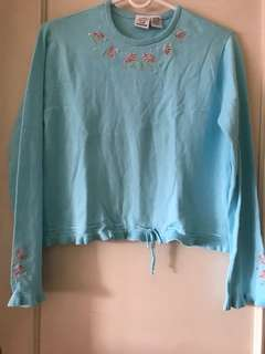Knitted Long Sleeves Blouse
