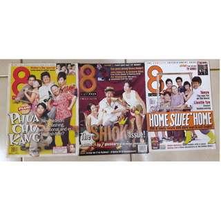 8 Days magazines - Phua Chu Kang issues