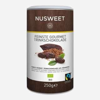 Nusweet feinste Gourmet Trinkschokolade – 250g  Nusweet 巧克力飲料 -250g