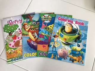 BN colouring books