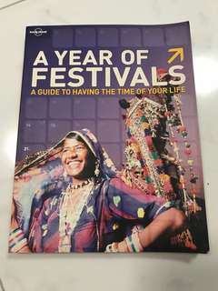 Lonely Planet Festival Book