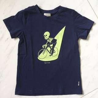 $40 Paul Smith Glow-in-the-Dark Skeleton Bicycle Tee Shirt