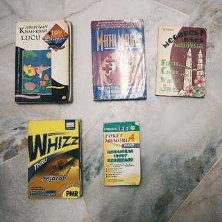 Cheap Old Books All For RM10