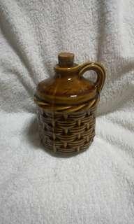 Zummerset zider jug, a Wilson and Purdy Design wicker pitcher, Cider Jar, Somerset Cider jug