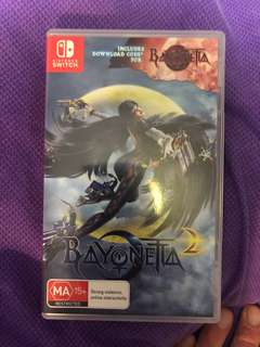 Bayonetta 2 and Kirby star allies for Nintendo switch. Both for $80 or $45 each.