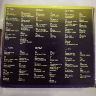 Ultimate dance 6 cd