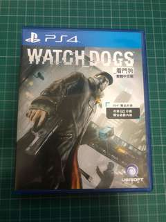 PS4 Watch Dogs 看門狗