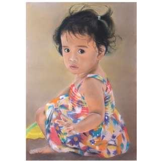 Gift portrait painting art commission