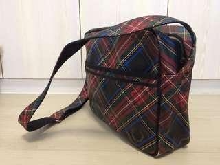 🇬🇧購自英國 Fred Perry 男士斜孭袋 斜咩袋 英倫風 格仔紋