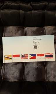 Singapore stamps.