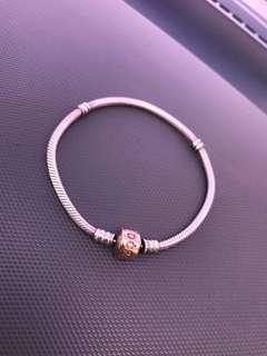 pandora rose clasp size 19