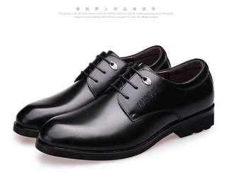 🚚 男 黑色 商務 英倫 皮鞋