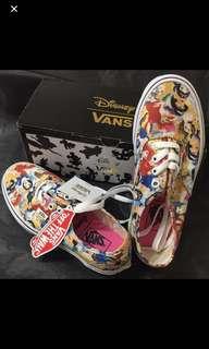 限量版 Vans Disney 布鞋 公主系列