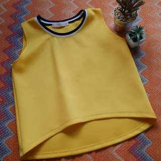 GTW Yellow Jersey Top