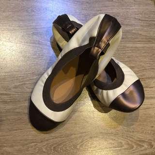 Metallic brown Doll Shoes