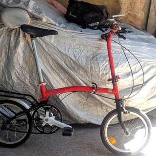 Sugimura 3fold like brompton folding bike