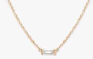 18K 鑽石頸鏈