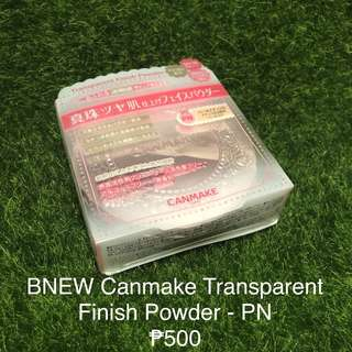Canmake Transparent Finish Powder - Shade PN
