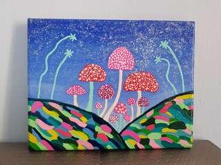 Original Art : Magical Mushroom