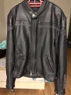 Victory Motorcycles Performance Leather Jacket   Size M