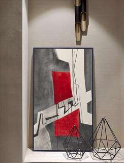 Abstract Nordic Canvas Printing Geometry Wall Pictures