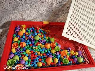 Mushroom Beads toys (promote intelligence in maths)