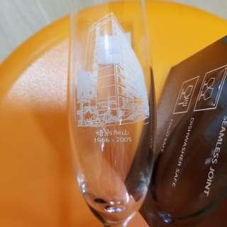 機電工程署50週年香檳水晶杯